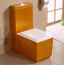 139# Cyclone One Piece Toilet Gold Color Toilet