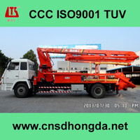 24m Truck-mounted Concrete Pump with CCC,ISO9001 Certificate