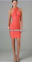 Queen nature sexy slit bust dress fashion 2012