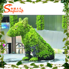 The professional factory manufacture chinese artifical landscaping grass plants for landscape