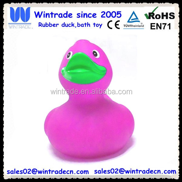 Mini animal plastic rubber duck