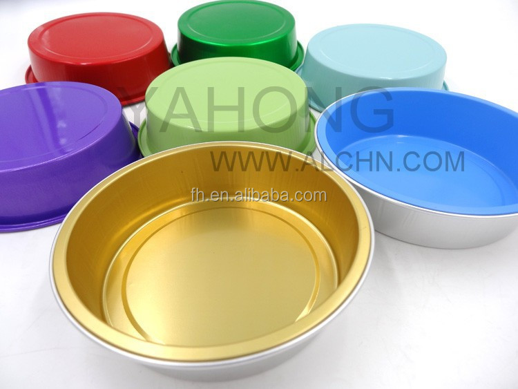 yahong Customized Microwave Ovens 15ML Aluminum Foil Baking Cups