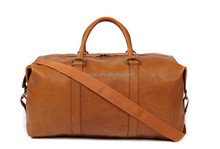 Guangzhou market wholesale women/mens leather travel bag price of duffel bag