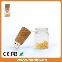 best gift for friend wishing bottle usb Flash drive