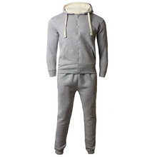 Hot Selling Cheap Price Men Winter Zip Up Fleece Tracksuit