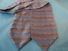 Modern exported ascot cravat necktie for men