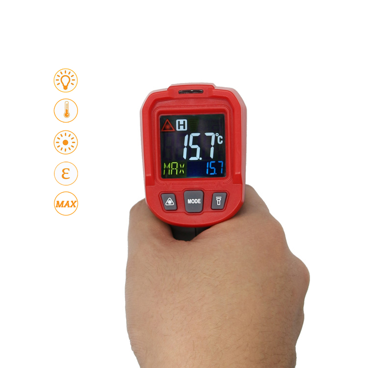 Non-Contact Laser LCD Display Infrared Termometro Digital Thermometer <strong>Temperature</strong> Meter Gun Point -50~550 Degree