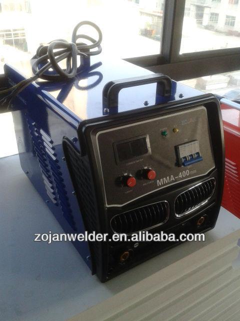 400 amp mma inverter arc welding machine.