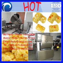 Lower energy consumption egg crisp cake machine line