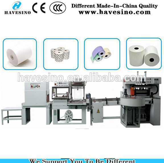 one color flexo printing ATM Paper slitter rewinder machine