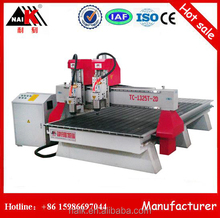 Multi spindle 3d cnc wood carving machine/ 1325 cnc router/ mdf cutting machine price