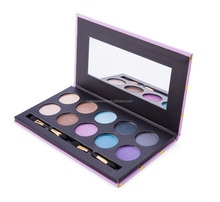 multi-colors pigmented waterproof private label eyeshdow palette