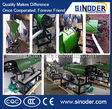 Best selling poultry manure processing machine/dung drying machine /solid liquid separation machine