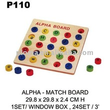 P110 ALPHA - MATCH BOARD