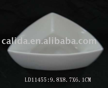 triangle tableware dish plate