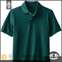softextile Fashionable high quality polo shirts wholesale china with patch and embroidery