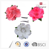 Wholesale Bargain Sale Natural Color Artificial Flower Barrette Making Supplies