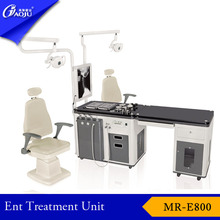 ENT workstation type electric doctor chair for ent examination unit operating.