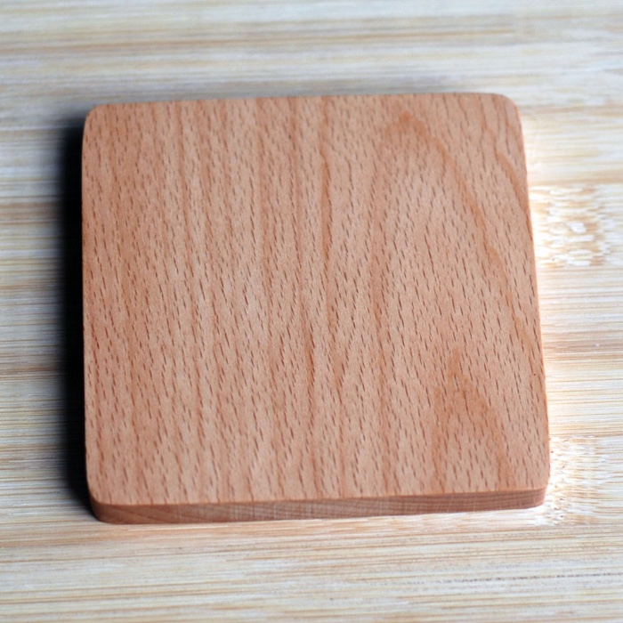 quick delivery time low MOQ beer coaster cup coaster wood coaster