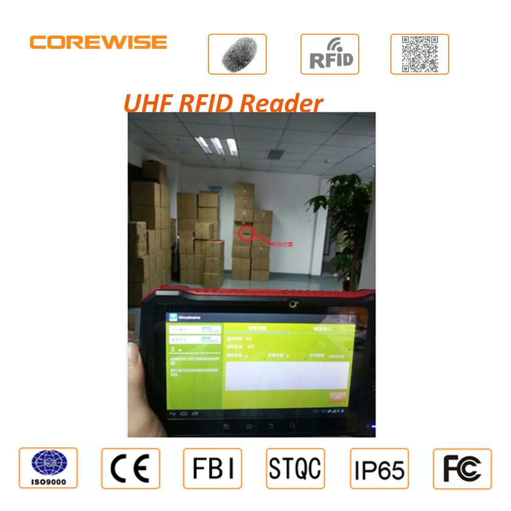 Android tablet PC rfid 14443-A/B 15693 fingerprint 508 dpi tablet pc