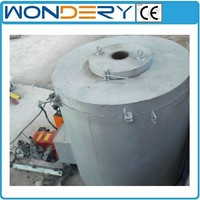 Oil-fired Crucible Aluminum Metal Melting Furnace