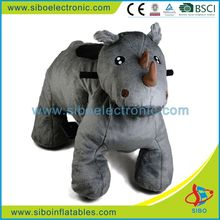 GM59 guangzhou sibo unicorn children's electric scooter animal de plush