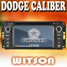 WITSON car radio dvd gps for DODGE CALIBER with iPhone ready