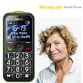 1.8inch mini protable kids phone, easy to use phone big button mobile for senior citizens