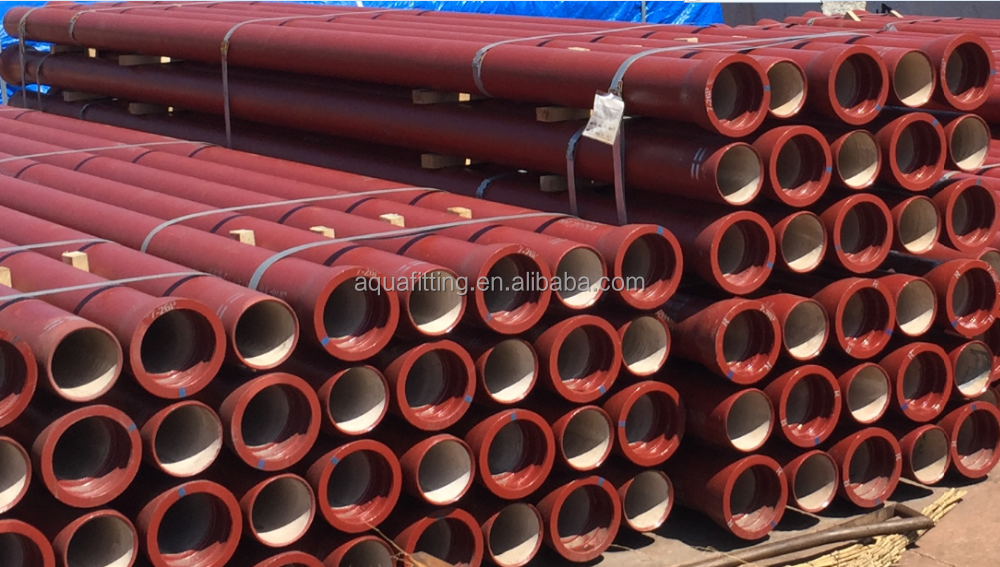 EN598 ductile iron pipe for sewage water