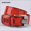 Best selling Western Style fashion leather belt womens
