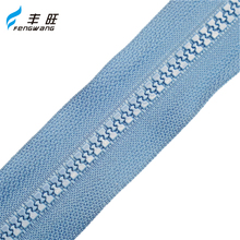Hot sale good quality fancy big teeth plastic zipper for garment