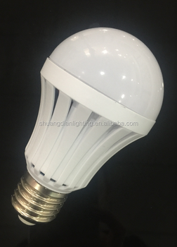 zhongshan guzhen rechargeble high lumen 9w emergency led bulb
