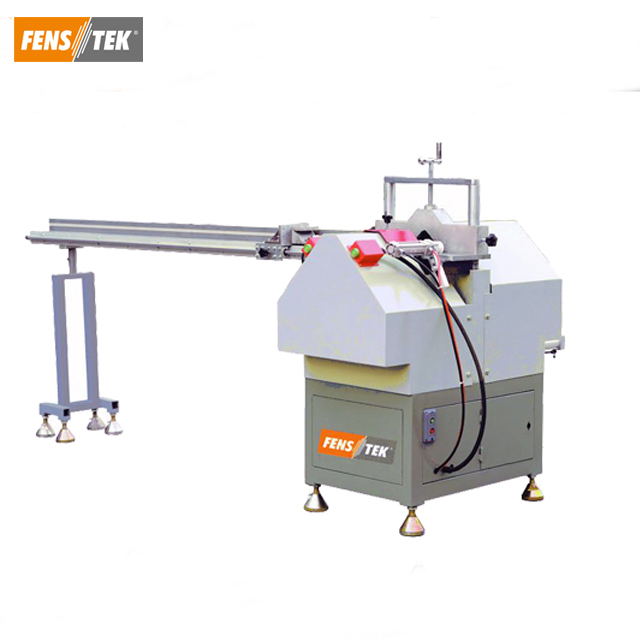 Pvc Vinyl window making machine for v notch cutting saw