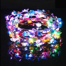 New arrive fashion colorful flash led headdress children's toys hot sale toy for bracelet