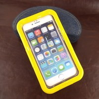 Wholesale yellow waterproof cover for iphone 5 6 multipurpose waterproofing mobile phone accessories dampproof case for iphone