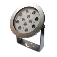 IP68 316 Metal ring 12v Remote Control SMD LED Underwater Swimming Pool Light