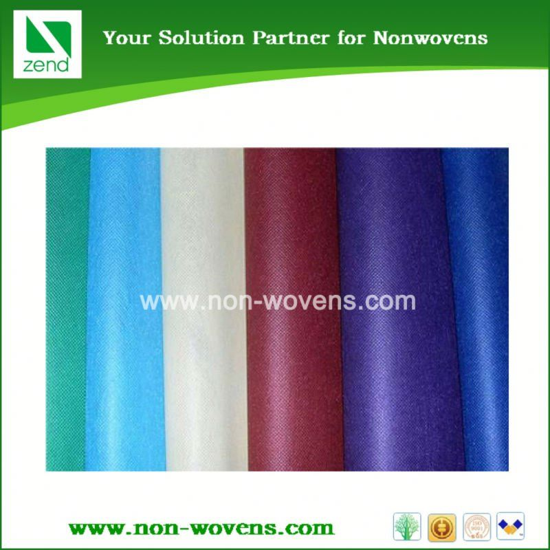 Waterproof 100% Spunbond PP Hot Water Soluble Nonwoven Fabric