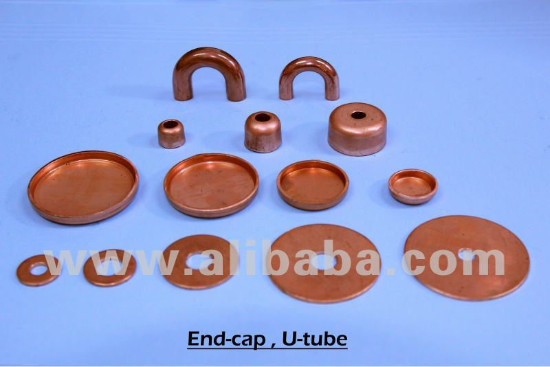 copper end cap/end plate