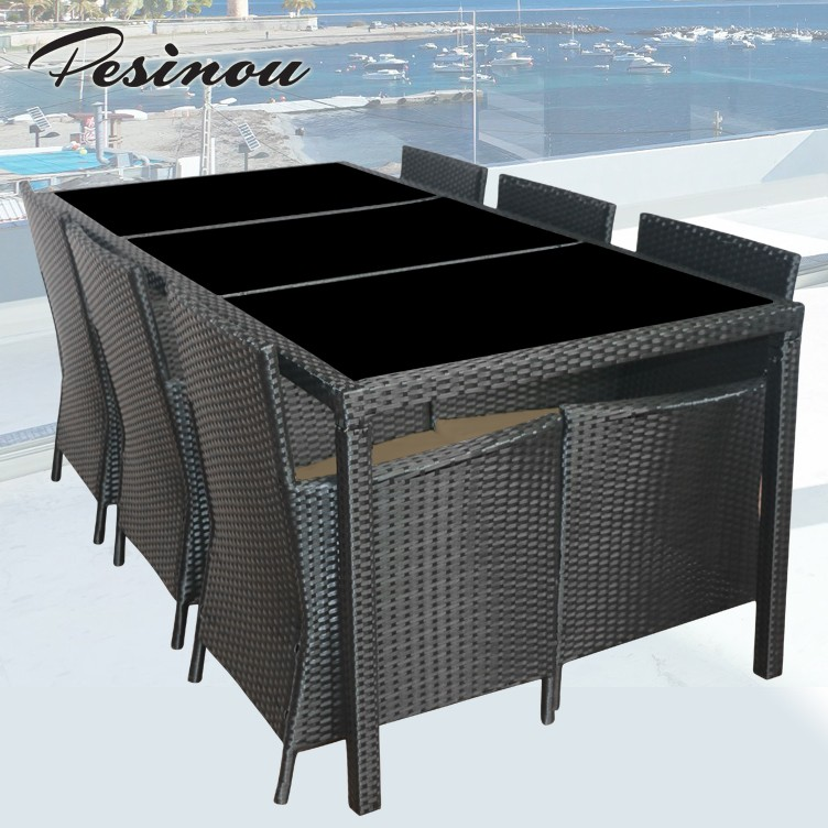 billig outdoor m bel setzt rattan korbm bel polen klassische korb ess set set im garten produkt. Black Bedroom Furniture Sets. Home Design Ideas