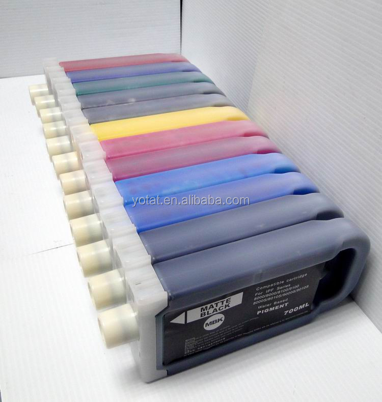 Wholesale iPF8000 8000s 8100 plotter ink cartridge for Canon PFI-701