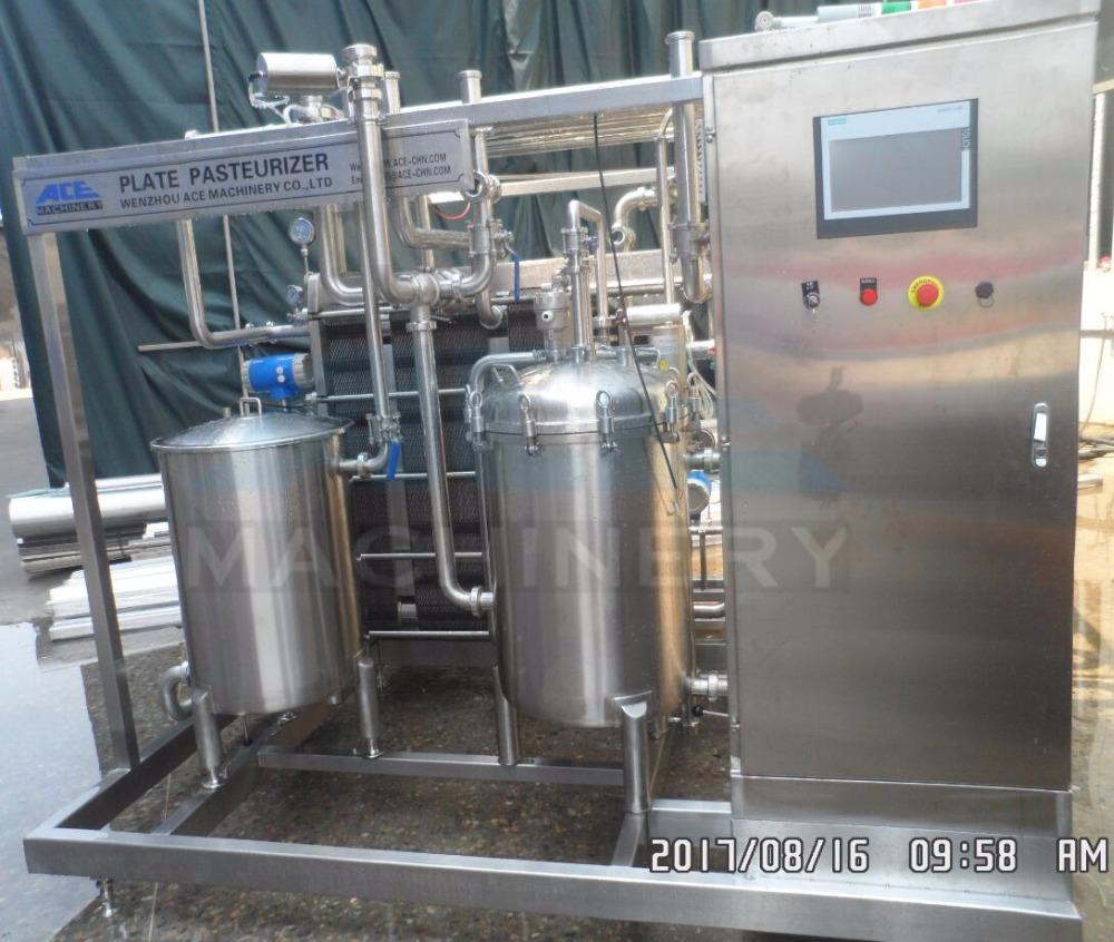 Ace Continuous Plate Heat Exchanger Pasteurizer Sterilization ...