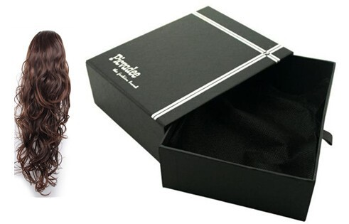[ factory price advantage ] wig custom packaging for hair extension 62
