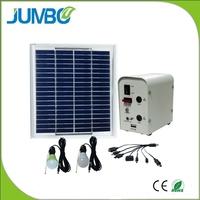 solar battery backup system portable for home lighting