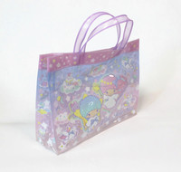 Fashion Design UV Printing Beach Bag Clear PVC Tote Bag