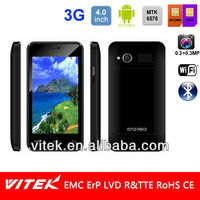Dual Sim 4 inch Android 2.3 Single Core Cheap price 3G Smart phone