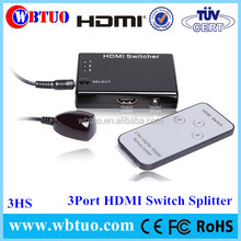 High quality HDMI Splitter 1x3 Output