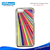 2015 china supplier heat press jeweled ultra thin case cover for iphone