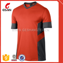 Custom Tight-Fitting cotton spandex t shirt