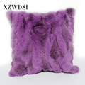 CX-D-17R Cheap Breathable Decorative Luxury Fur Sofa Pillow For Sofas