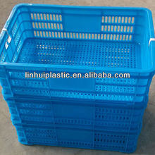 Seafood plastic crate